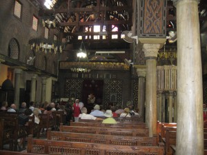 Inside Hanging Church (Coptic)