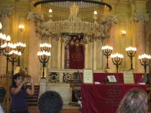 Inside the Synogogue