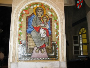 Image inside St Mark's Church in Alex