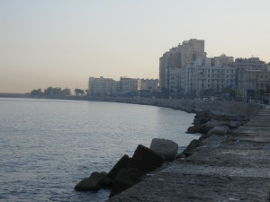 Along the Mediterranean in Alex
