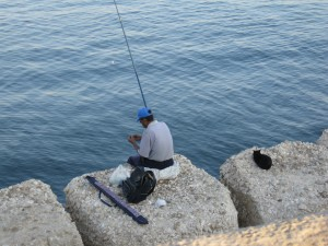 Fishing in the Sea