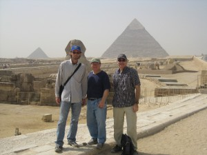 Glen, me and Scott in Giza