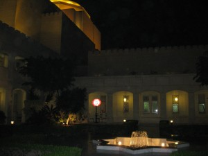 Entrance to Cairo Opera House--Fountain in Front