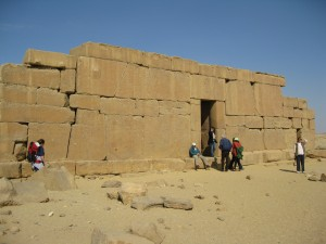Pharaonic Temple in the middle of nowhere--Crocodile God