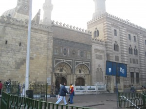 The great Al-Azhar Mosque and University (1000 years old)