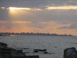 Sunset in Alex