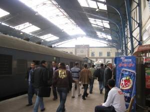 Ramses Train Station in heart of Cairo (at Mubarak Metro line)