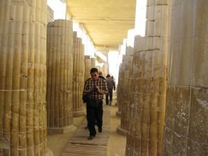 At Sakkara--The Steppe Pyramid