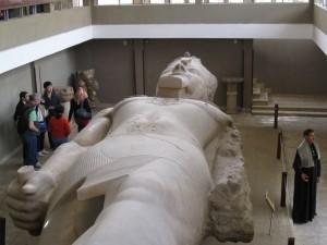 Ramses II in Memphis