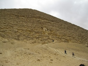 "Stairs up the ""Red Pyramid"" in Dashour"