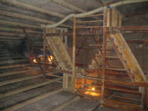 Stairs within the Red Pyramid leading to another chamber
