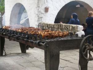 Andrea's Restaurant -- Roasting Chickens