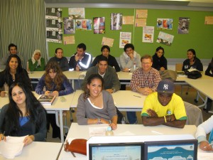 Intro to Sociology Class, Fall 2009, me in picture