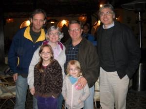 Glen, Katie, Me, Scott, Ivy and Maya at Abu Sid