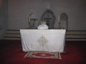 Altar in Monastery Chapel