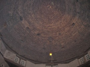 Dome of Main church at St. Macarius