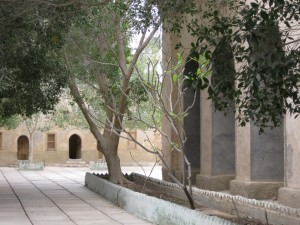 Courtyard of Monastery