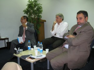 Panel leading discussion
