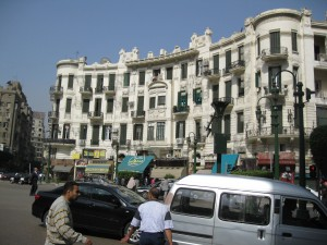 19th Century downtown Cairo building