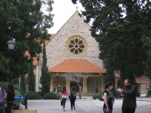 AUB Church on campus