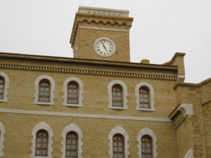 Clock Tower of Main dorm at AUC