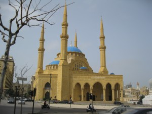 Muhammad Al-Amine Mosque in downtown Beruit