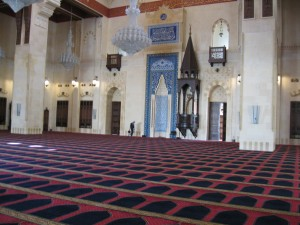 Inside Al-Amine Mosque