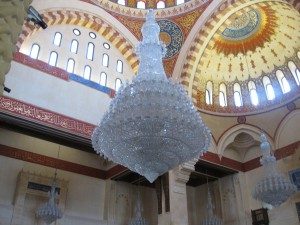 Chandelier in Mosque