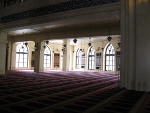 Beautiful prayer hall