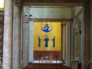Side chapel in St. Georges Maronite Church