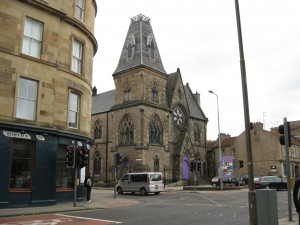 One of the many churches in Edinbugh that closed down and became something else: in this case a community center