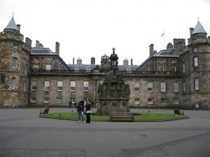 Holyrood Palace: Home of Queen when in Scotland