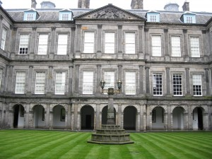 Inner Courtyard of Holyrood Palace