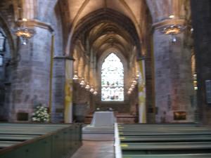 Inside St. Giles
