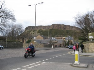 """Arthur's Seat"" high above Edinburgh"
