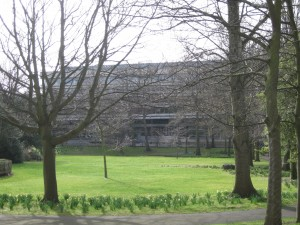 Main Library at Univ. Edinburgh
